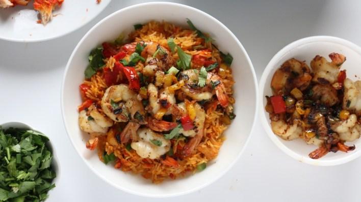 Oven baked jollof rice - recipe - nigerian - rice - basmatic