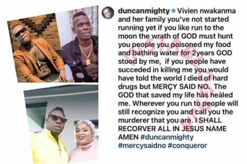 Duncan Mighty Instagram