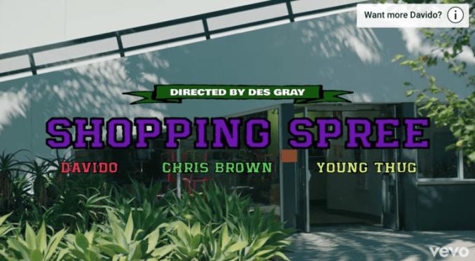 Davido – Shopping Spree ft. Chris Brown Young Thug