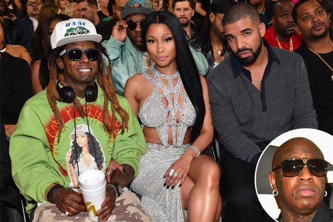 Birdman Lil Wayne Nicki Minaj Drake