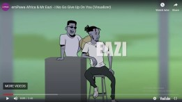 [Visualizer] Mr. Eazi - I No Go Give Up On You.Video