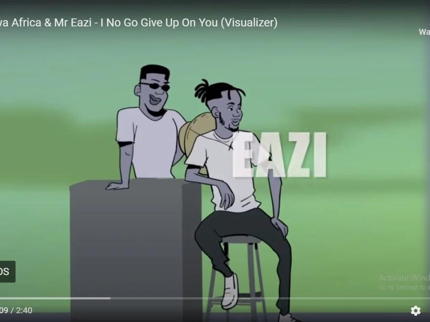 [Visualizer] Mr. Eazi - I No Go Give Up On You.Video