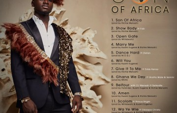"Kuami Eugene ""Son Of Africa"" Tracklist (New Album By)"
