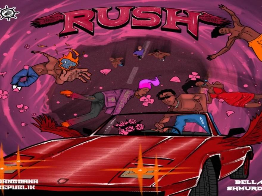 Mp4 Download Bella Shmurda - Rush Lyrics Video