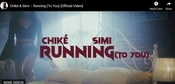 Download Mp4 Chike – Running (To You) ft. Simi Video