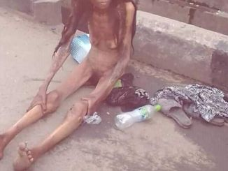Shocking!! See Terrible Thing That Happened To A Lady After Been Dropped By A Car In Ajah (photo) 9