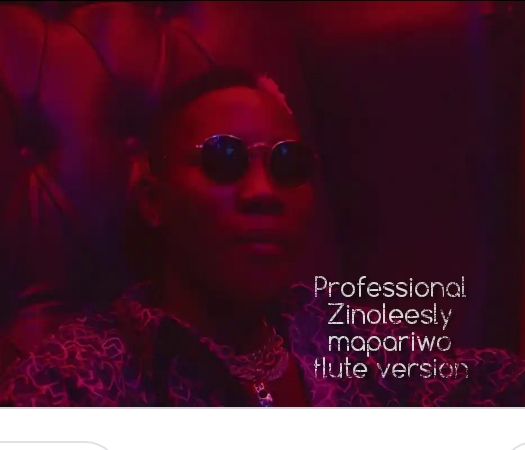 Professional Ft. Zinoleesky – Mapariwo Flute Version