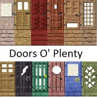 Doors O Plenty Mod 1.7.10
