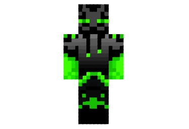 Brother Green Enderman Skin Minecraft Skins