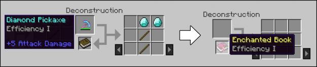 Deconstruction Table Mod Screenshots 4