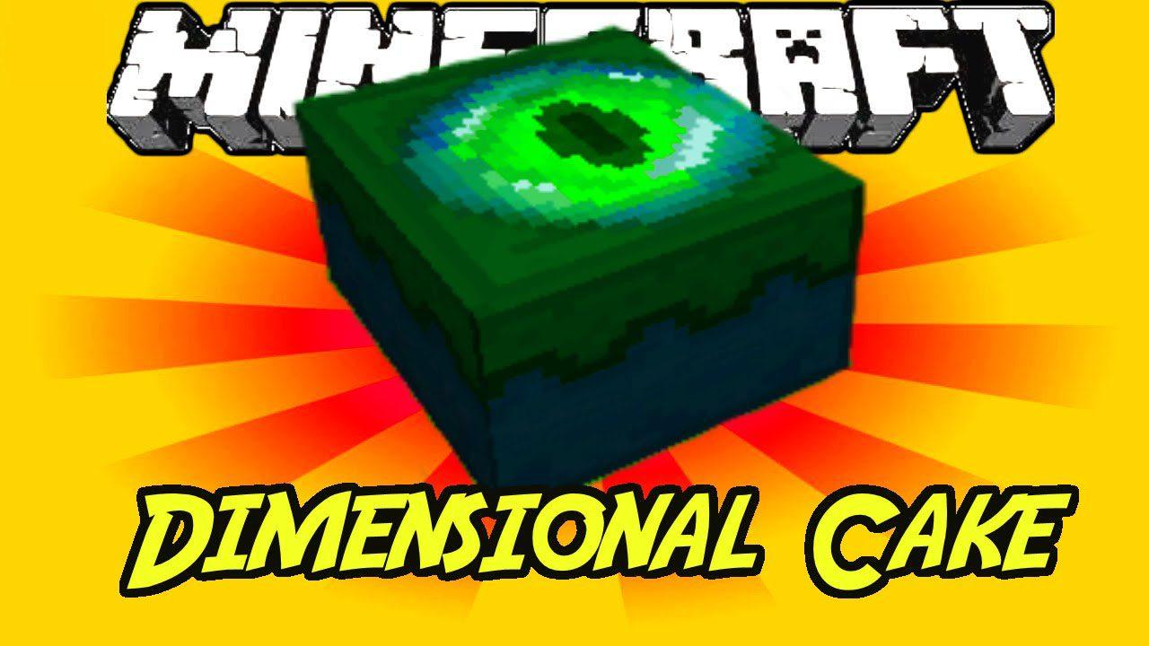 Dimensional Cake Mod 1.12.2/1.7.10 (End Cake) - 9Minecraft.Net