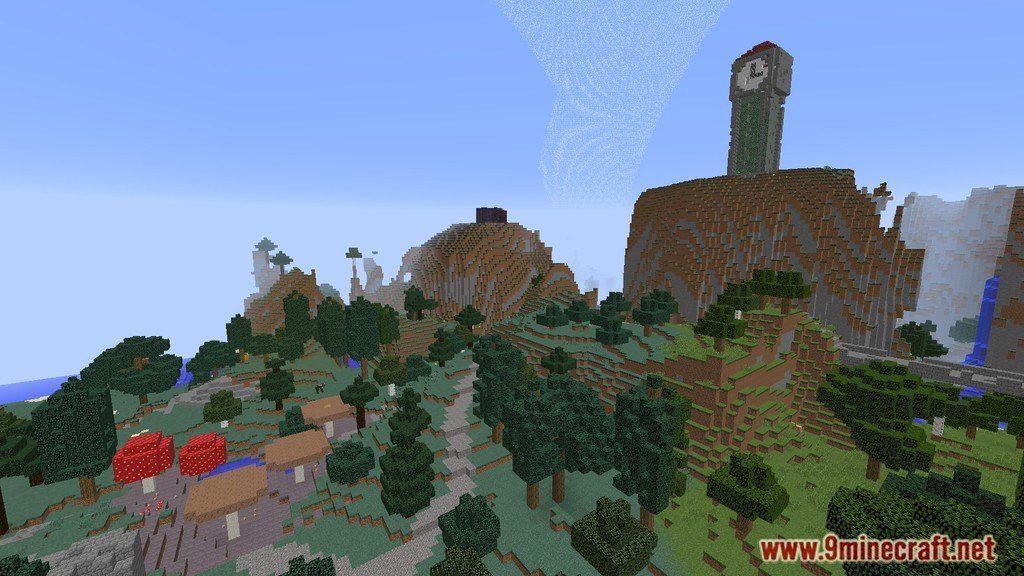Hunger Games Map 11221112 for Minecraft  9MinecraftNet
