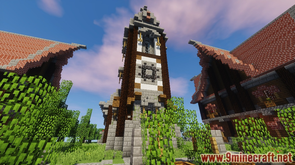 Medieval Town Map Pack 11221112 For Minecraft
