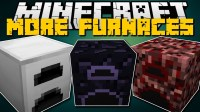 More Furnaces Mod 1.12.2/1.11.2 (Dual Smelting, No Fuel