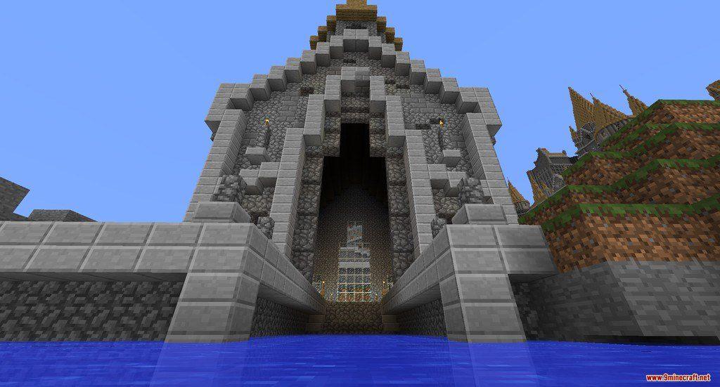Hogwarts Map 11221112 For Minecraft