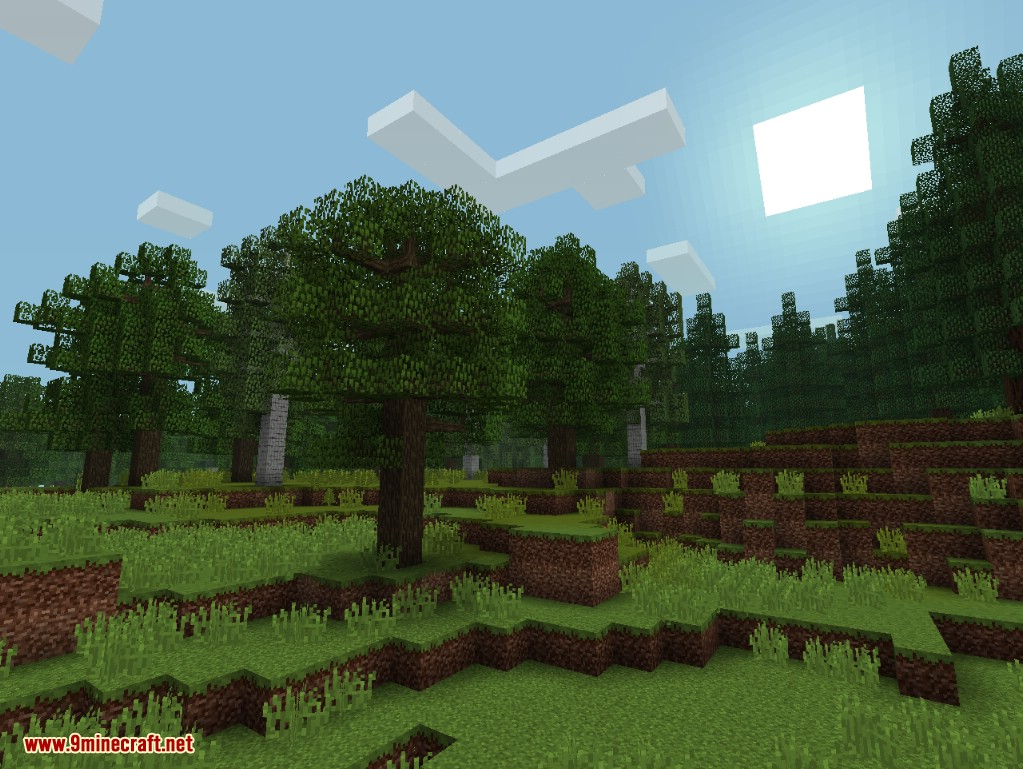 Misty World Mod 1.12.1/1.11.2 (Realistic Forest