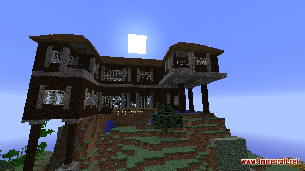 Spruce Mountain Manor Map 1122112 for Minecraft