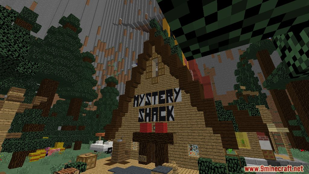 Gravity Falls Adventure Mode Map 1122112 for