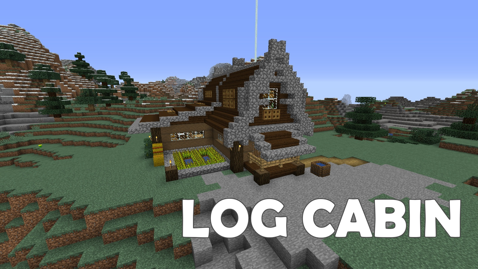 Log Cabin Map 1132 for Minecraft  9MinecraftNet