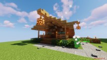 Giant House Map 1.13.2 Minecraft