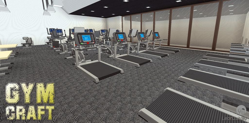 GymCraft Mod 1122 Perfect Fitness Center  9MinecraftNet