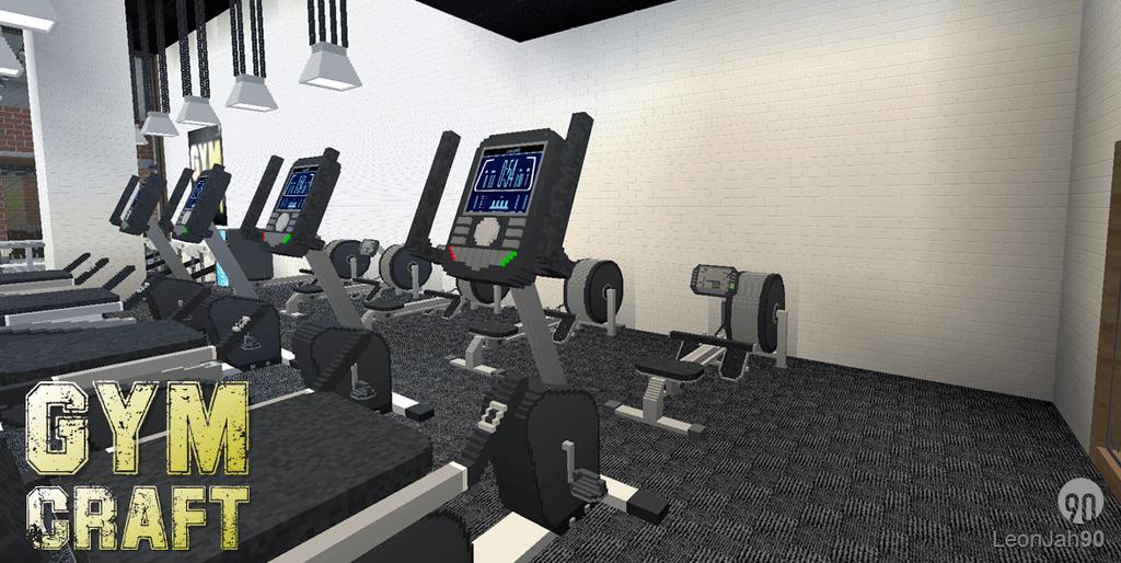 Gymcraft Mod 1 12 2 Perfect Fitness Center 9minecraft Net