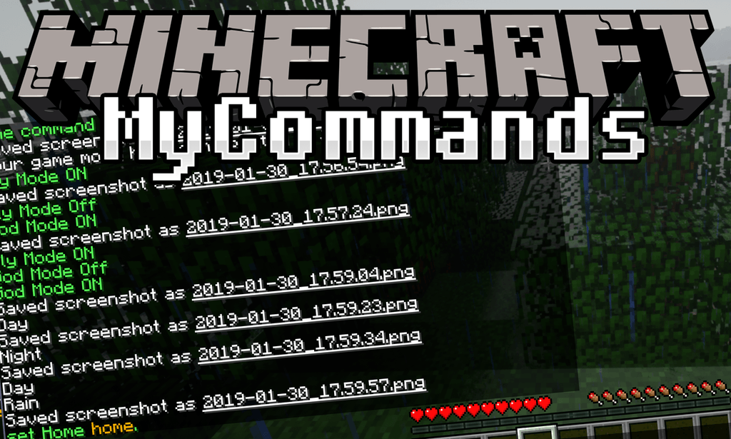 Mycommands Mod 1.14.2/1.12.2 (Add Helpful Server Commands) « Minecraft Pc