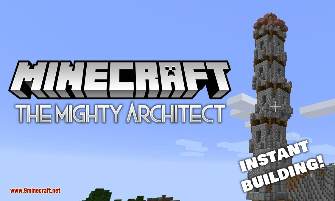 The Mighty Architect Mod 1 16 5 1 14 4 Instant Elaborate Buildings 9minecraft Net