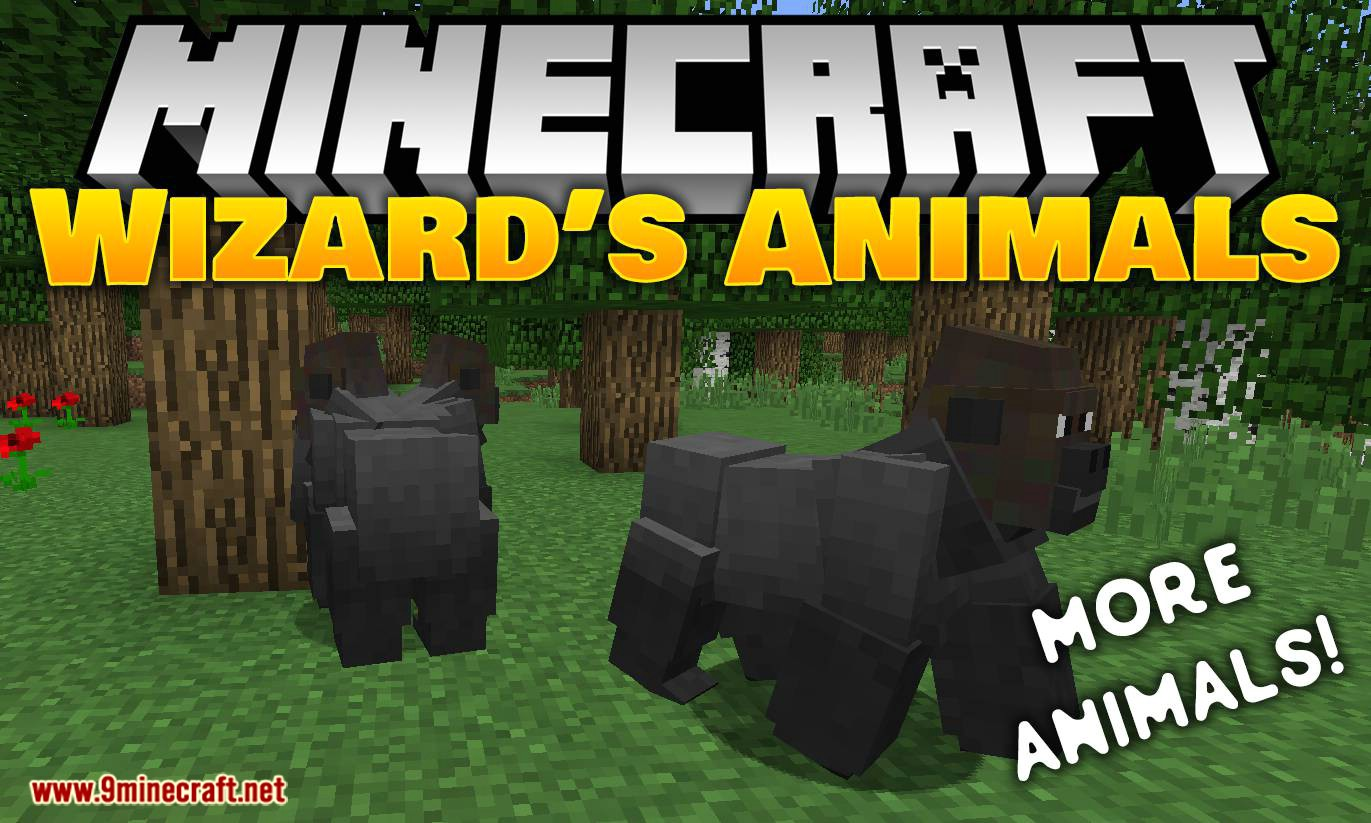 Wizard S Animals Mod 1 12 2 1 10 2 Add 80 New Real Life Animals 9minecraft Net