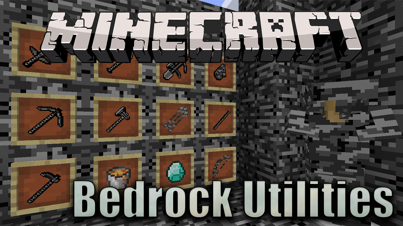 This update added amethyst geodes along with amethyst blocks and. Bedrock Utilities Mod 1 12 2 Stronger Armors Tools 9minecraft Net