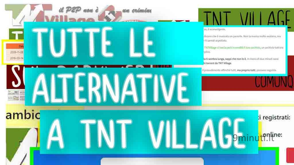 tutte le alternative a tnt village