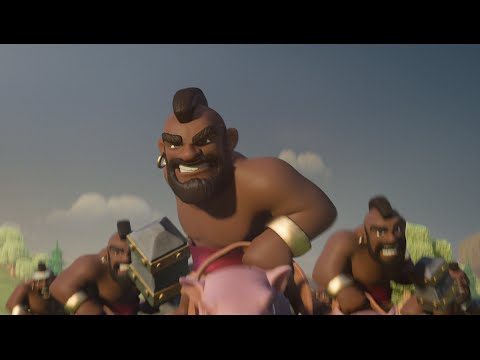 Clash of Clans : Hog Riders (official TV Commercial)