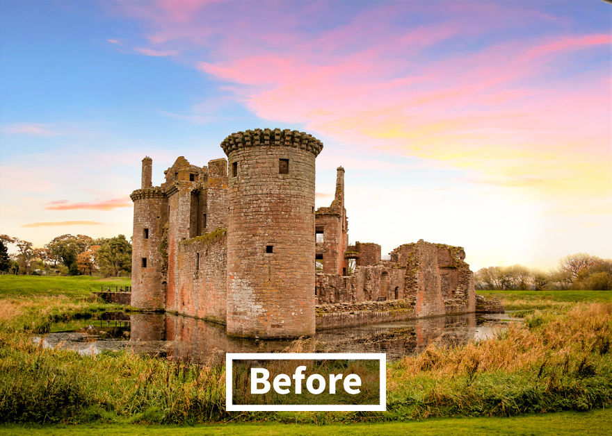 5-Caerlaverock-Castle-Dumfries-and-Galloway-Scotland-image-before-9mood