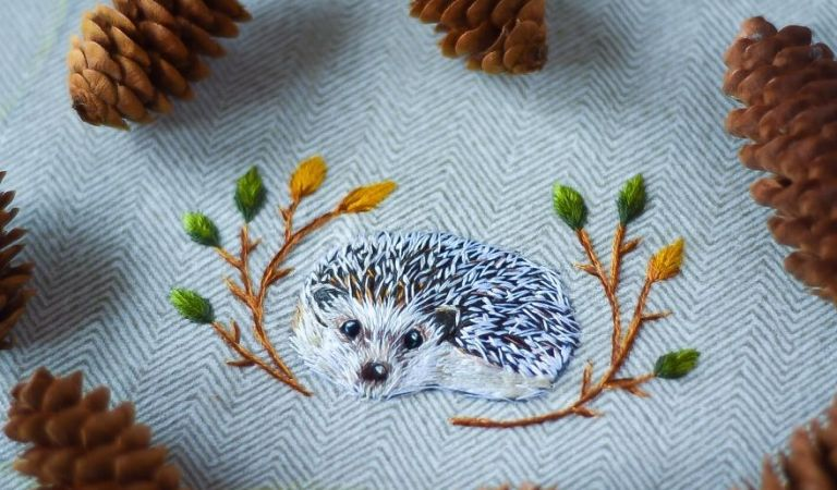 Meet Embroidery Artist Yulia Sherbak from Ohio (US) – Who Uses Threads To Create Amazing Animals art