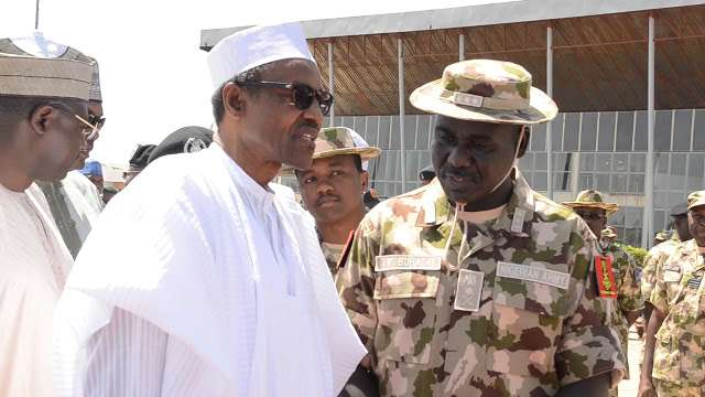 Image result for Buhari has not approved $1bn equipment for military – Presidency