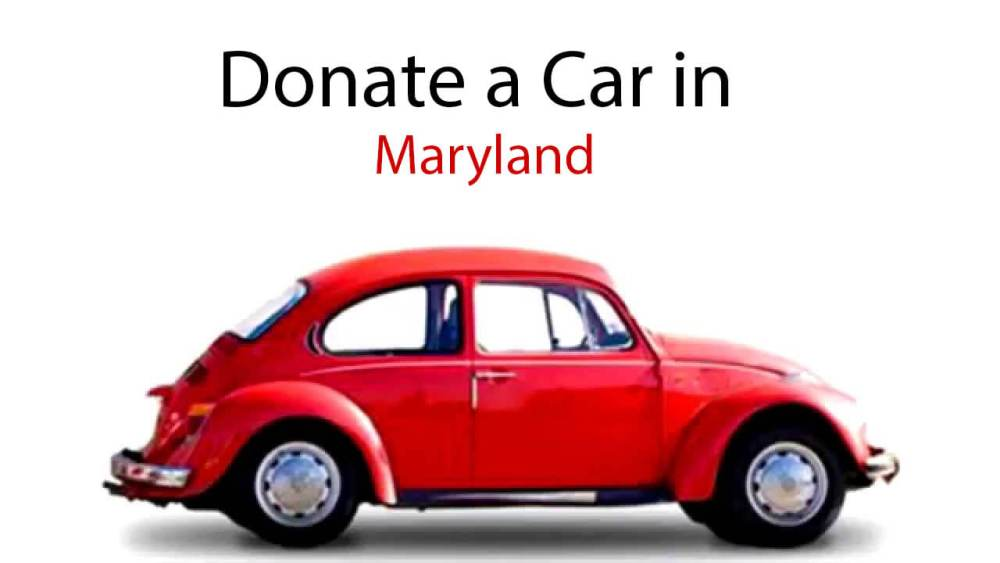 Donate a Car in Maryland
