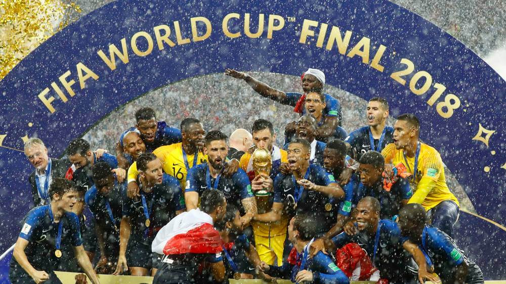 France Wins World Cup Final 2018