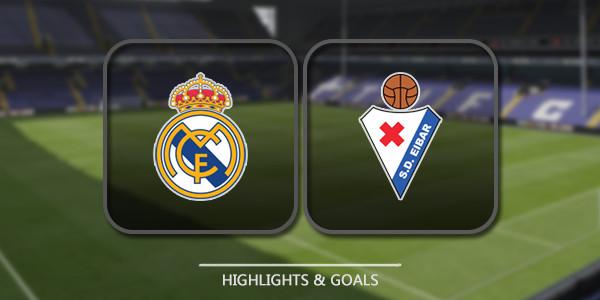 Kết quả hình ảnh cho Real Madrid vs Eibar
