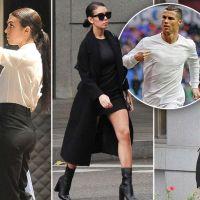 Cristiano Ronaldo's new girlfriend Georgina Rodriguez gets back to her day job after Disneyland trip