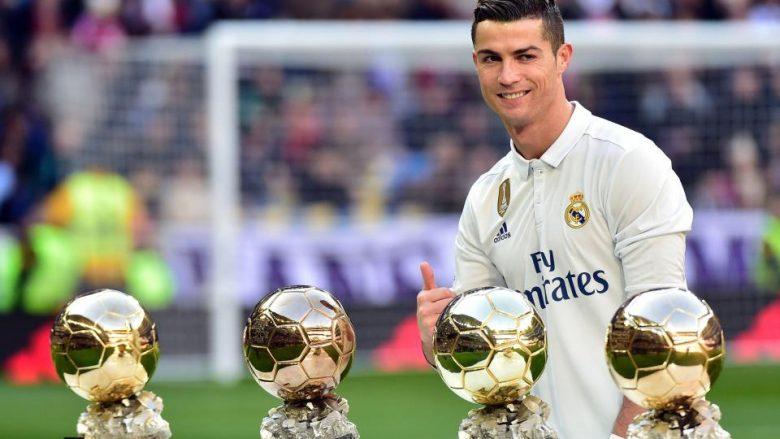 Ronaldo presents 'Golden Ball