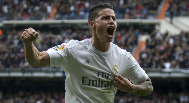 German media: James back in Real Madrid