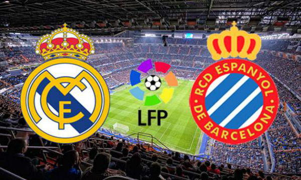 LIVE: Real Madrid vs Espanyol