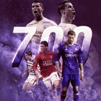 Ronaldo, 700 games - 509 goals, machinery that scores each year more than the previous year