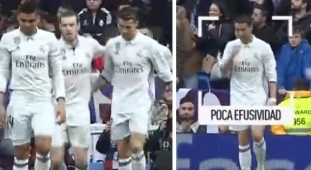 Video: Was Ronaldo happy when Bale scored? you have not seen this.
