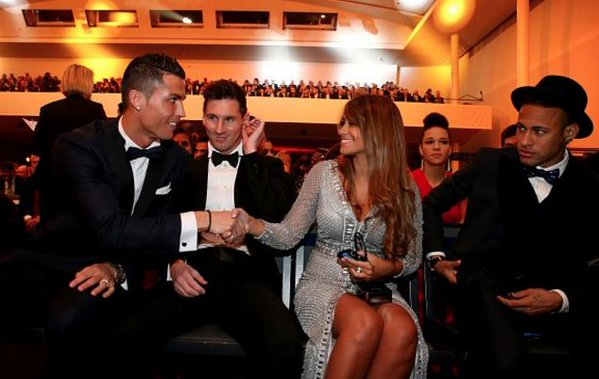 The reason why Ronaldo wasn't at Messi's wedding!