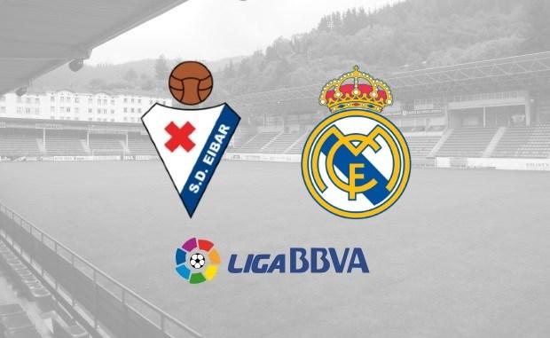 Image result for Eibar vs Real Madrid