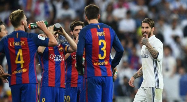 Pique responds to Real Madrid players