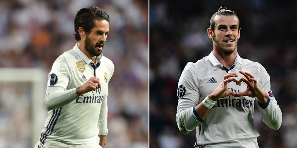 Statistic: Here's why Bale must play in the final before Isco (Photo)