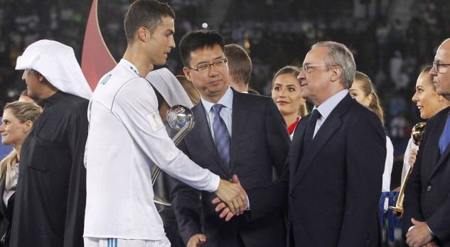 Perez to Ronaldo: I don't have money for you