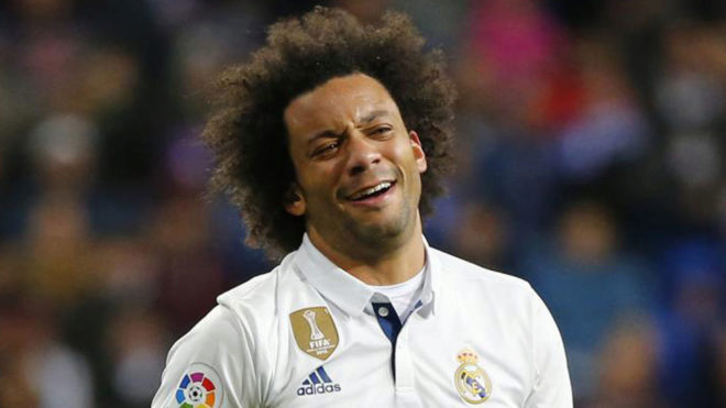 Marcelo lost his place due to the bad display against Barcelona